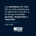 Frase Alvin Toffler-Carlos Güereca